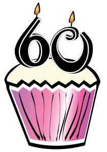 60 years old rh carriepadgett com 60th birthday clipart free 60th birthday clipart images
