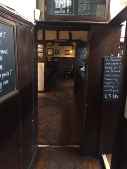 The Eagle and Child inside