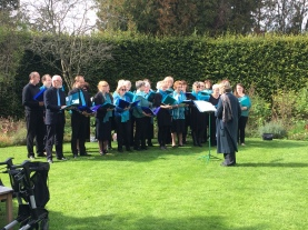 A choir from Winchester