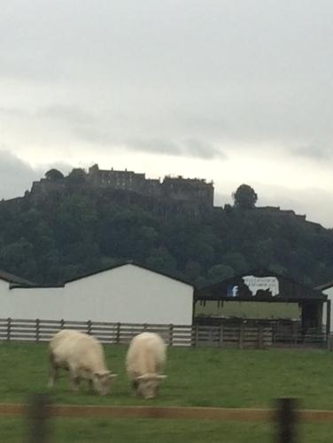 A random castle outside Edinburgh